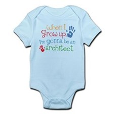 Kids Future Architect Infant Bodysuit