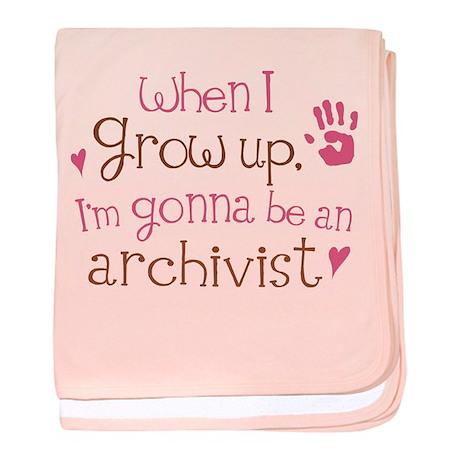 Kids Future Archivist baby blanket