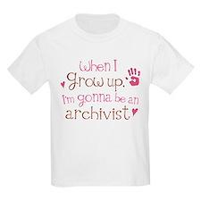 Kids Future Archivist T-Shirt