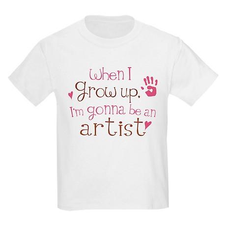 Kids Future Artist Kids Light T-Shirt