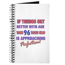 Funny 96th Birthdy designs Journal