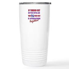 Funny 96th Birthdy designs Travel Mug