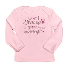 Kids Future Audiologist Long Sleeve Infant T-Shirt