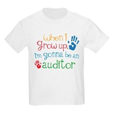 Kids Future Auditor T-Shirt