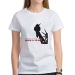 Because of the Brave Women's T-Shirt