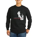 Because of the Brave Long Sleeve Dark T-Shirt