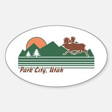 Park City Utah Sticker (Oval)