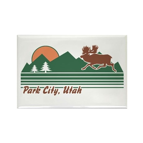 Park City Utah Rectangle Magnet