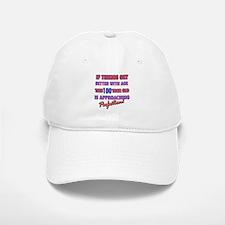 Funny 100th Birthdy designs Baseball Baseball Cap
