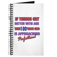 Funny 100th Birthdy designs Journal