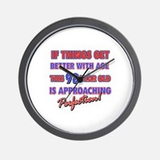 Funny 98th Birthdy designs Wall Clock