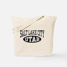 Salt Lake City Utah Tote Bag