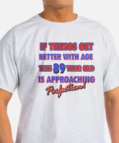 Funny 99th Birthdy designs T-Shirt
