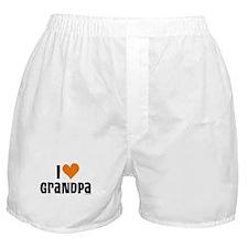I LOVE GRANDPA Boxer Shorts
