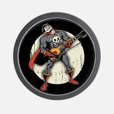 Guitar Super Hero Wall Clock