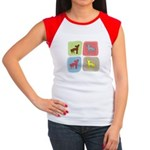 Chinese Crested Women's Cap Sleeve T-Shirt