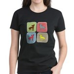 Chinese Crested Women's Dark T-Shirt