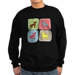 Chinese Crested Sweatshirt (dark)