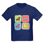Chinese Crested Kids Dark T-Shirt