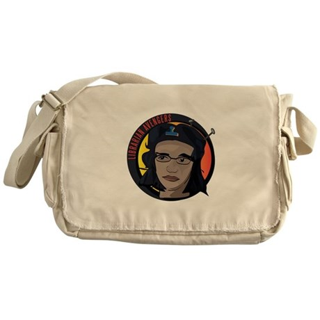 Librarian Revolution Messenger Bag