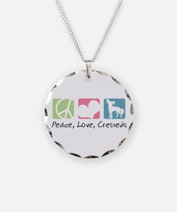 Peace, Love, Cresteds Necklace