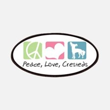 Peace, Love, Cresteds Patches