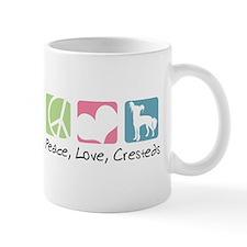 Peace, Love, Cresteds Mug
