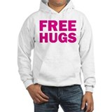 Free hugs pink Hooded Sweatshirt