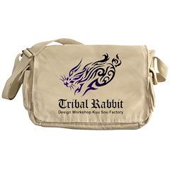 Tribal rabbit Messenger Bag