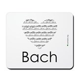 Classical music bach Mouse Pads