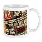 Castle Retro Novel Covers Mug