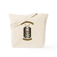 Jolly Roger Skull and Crossbones Tote Bag