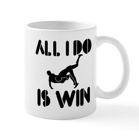All I do is Win Greco-roman-wrestling Mug