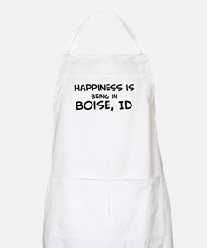 Happiness is Boise BBQ Apron