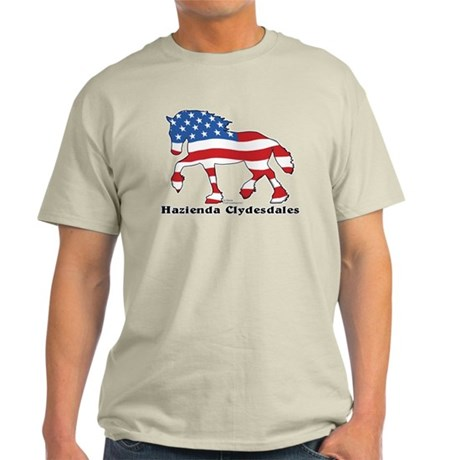 Hazienda Clydesdales (Custom) Light T-Shirt