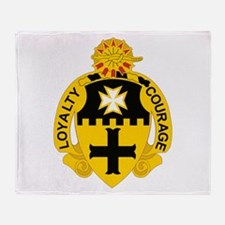 Funny Fifth army Throw Blanket