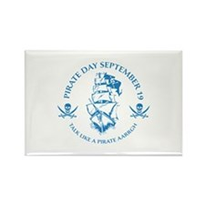 Pirate Day Rectangle Magnet (10 pack)
