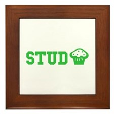Stud Muffin Framed Tile