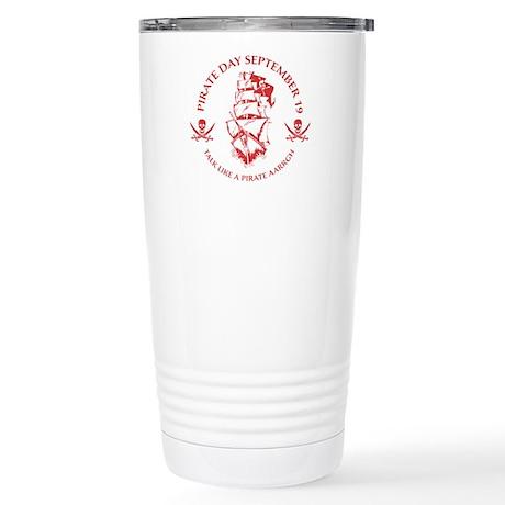 Pirate Day Stainless Steel Travel Mug