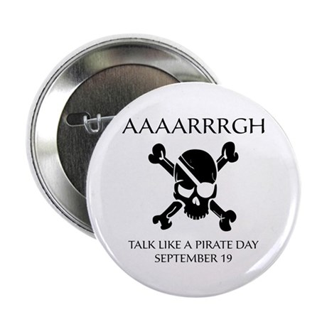 """Pirate Day 2.25"""" Button (10 pack)"""