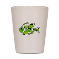 Cute Tropical Fish Shot Glass