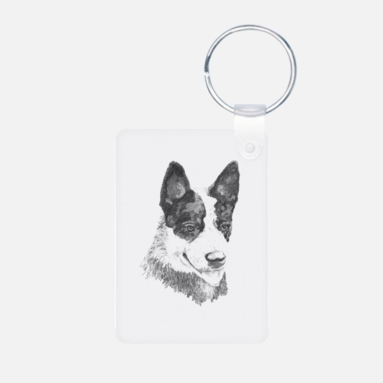 Keychains, cattle dog