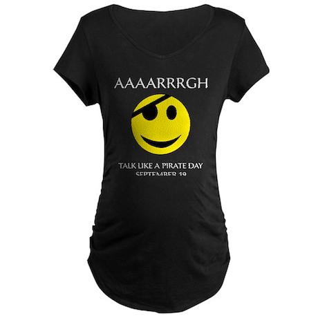 Pirate Day Maternity Dark T-Shirt