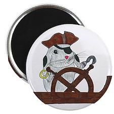 Pirate Rabbit Magnet