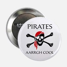 "Pirates aarrgh cool 2.25"" Button (100 pack)"