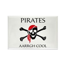 Pirates aarrgh cool Rectangle Magnet (10 pack)