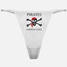 Pirates aarrgh cool Classic Thong