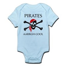 Pirates aarrgh cool Infant Bodysuit