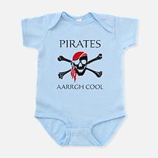 Pirates aarrgh cool Infant Bodysuit