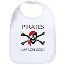 Pirates aarrgh cool Bib